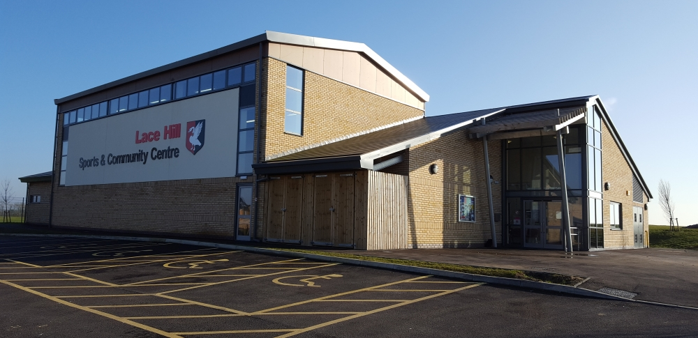 Exterior of Lace Hill Sports and Community Centre