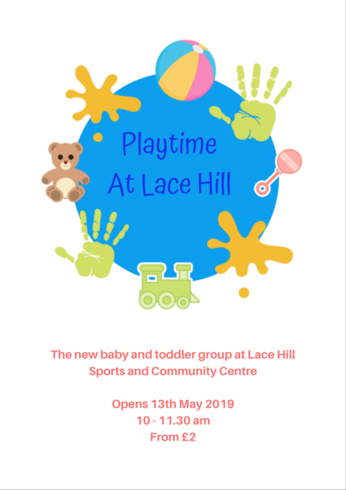 Playtime at Lace Hill