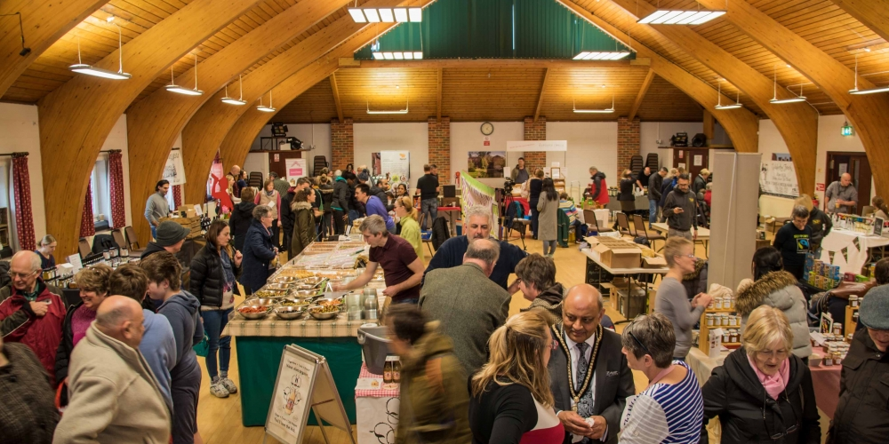 Food Fair in the Community Centre