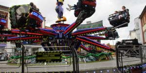 The joker ride at Charter Fair