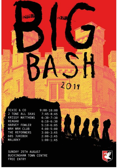 BandJam Big Bash Poster