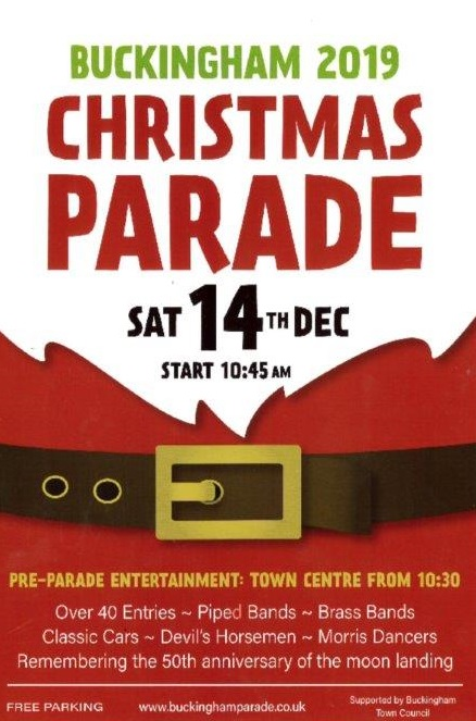 Poster for Christmas Parade 2019