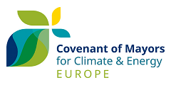 Logo for the Covenant of Mayors for Climate & Energy Europe