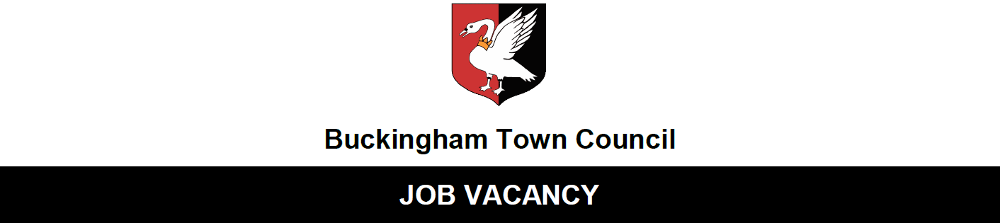 Buckingham Town Council Job Vacancy logo