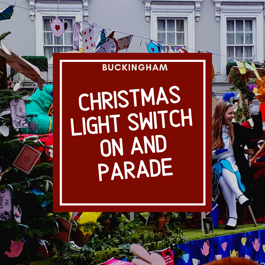 link to christmas parade and christmas lights switch on page