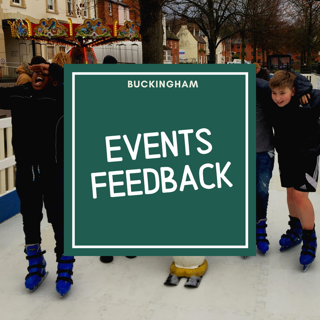 link to events feedback form