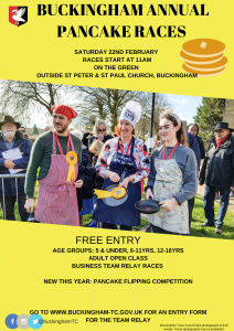 Picture of Pancake Race poster