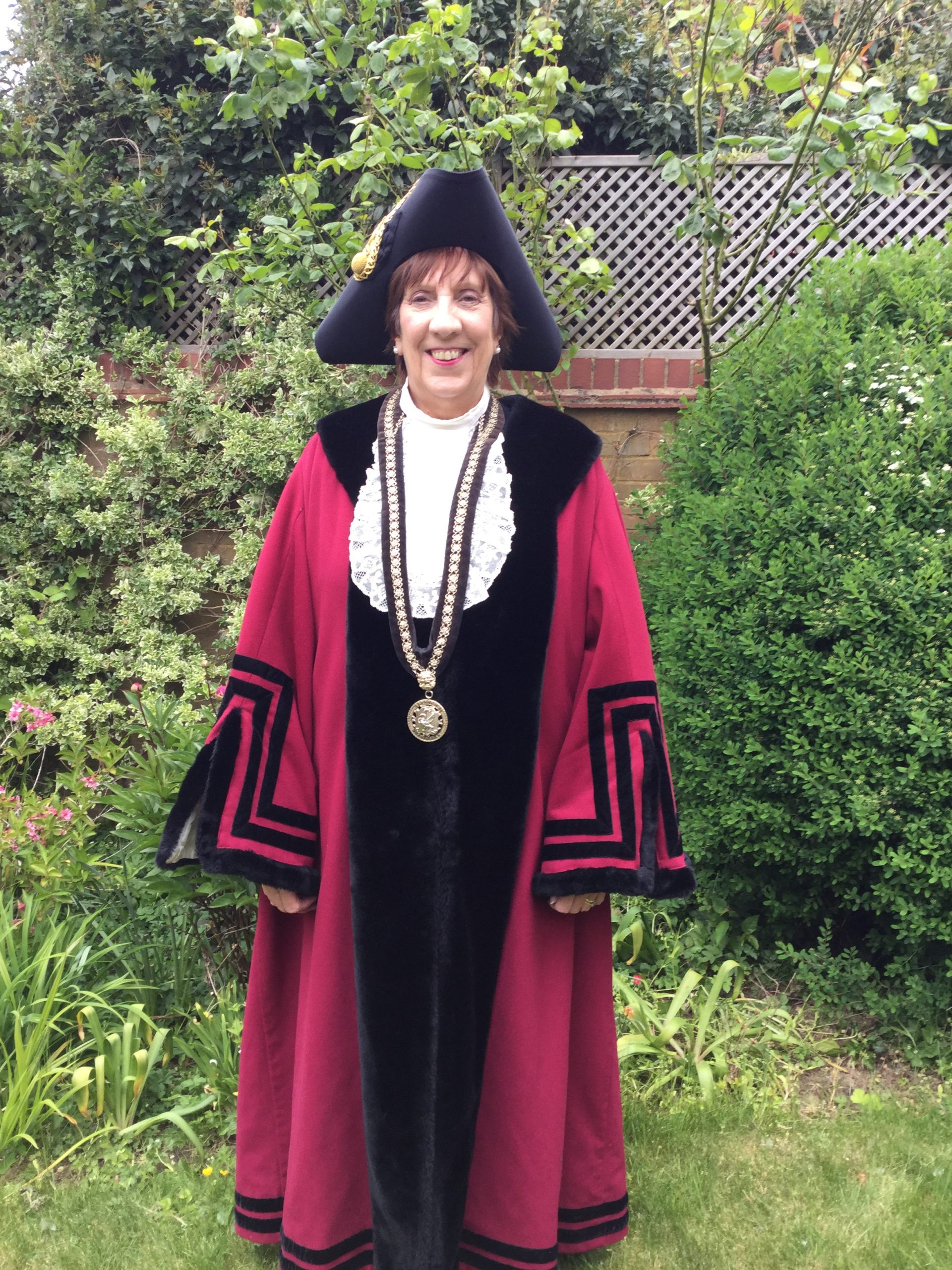 Mayor of Buckingham, Cllr. Geraldine Collins