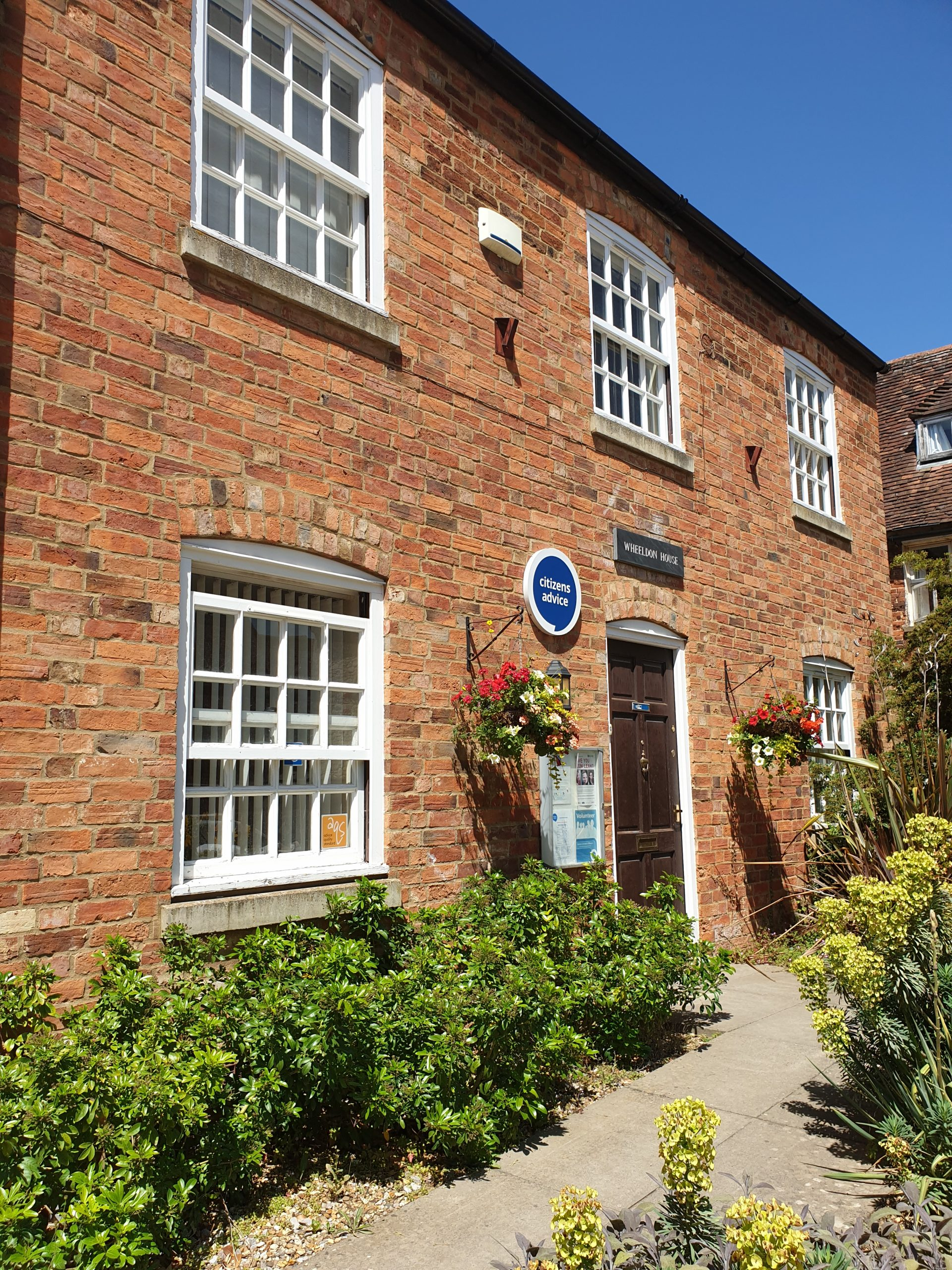 Wheeldon House, home of Citizens Advice in Buckingham part of Citizens Advice Aylesbury Vale