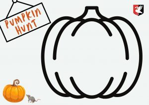 Pumpkin Colouring In Sheet