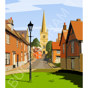 A4 art print of Buckingham