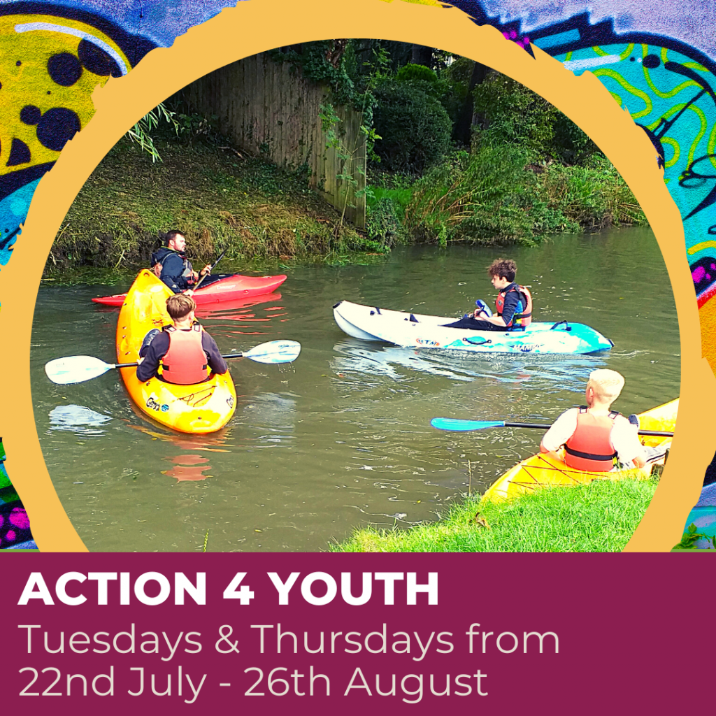Click here to find out more about Action4Youth drop in sessions for young people