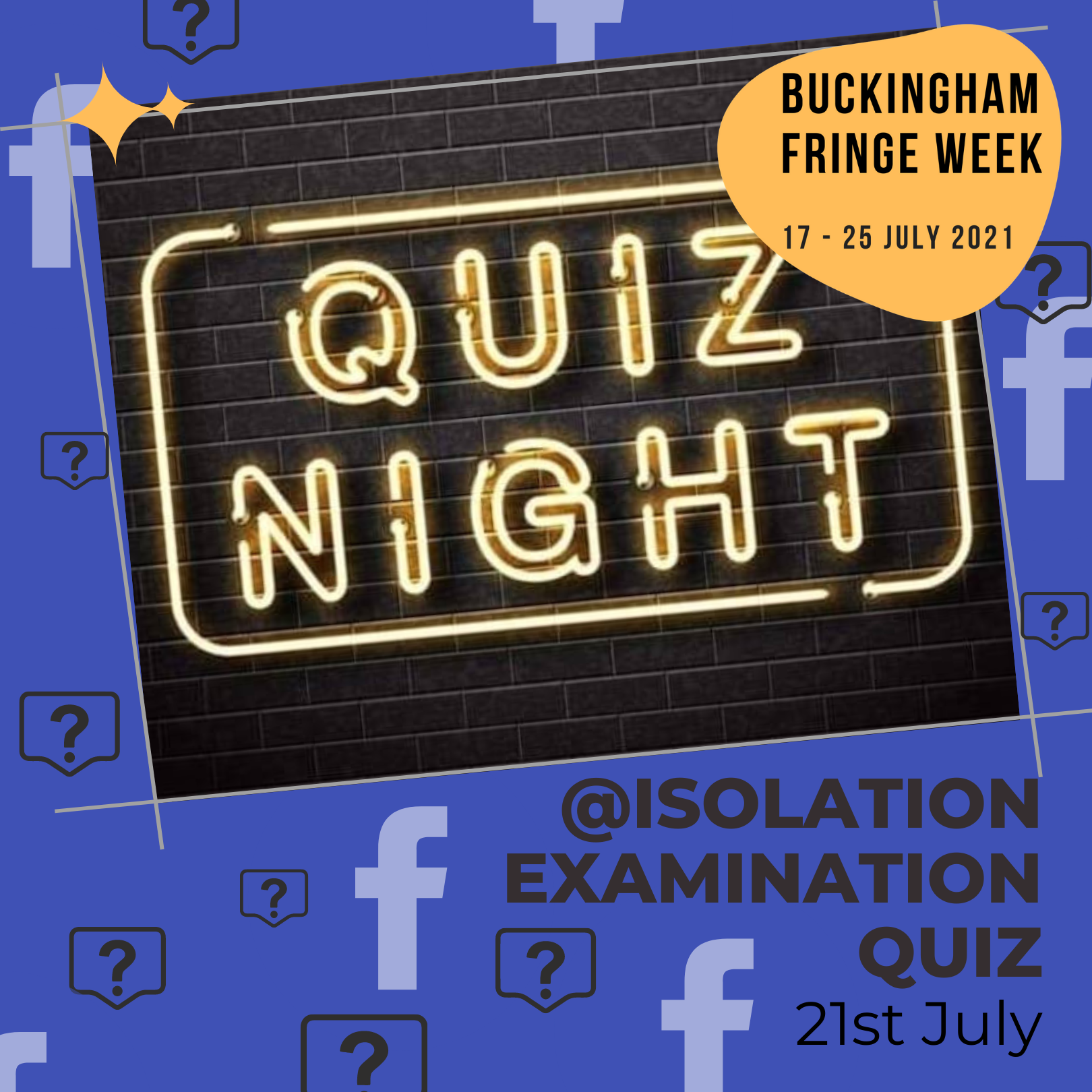 Click here to find out more about Isolation Examination Quiz