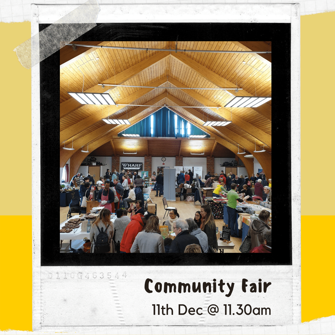 Click here to find out more than the Community Fair
