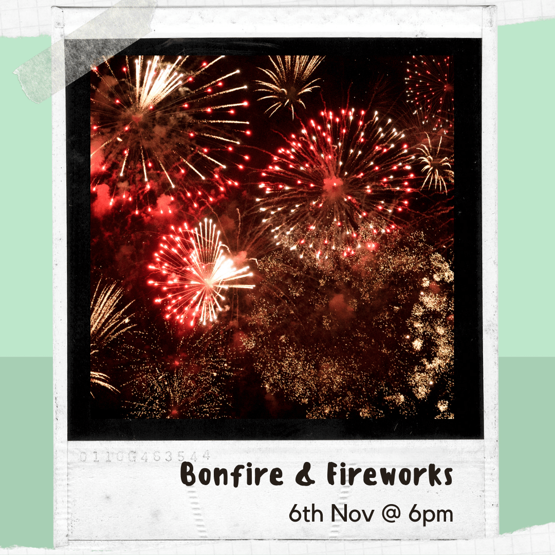 Click here to find out more about bonfire and fireworks