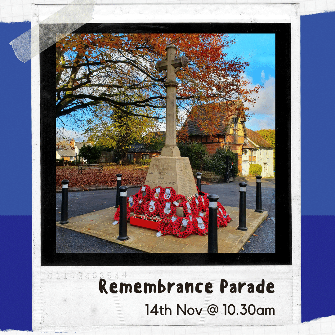 Click here to find out more about the Remembrance Parade